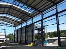 Přístavba výrobní haly D