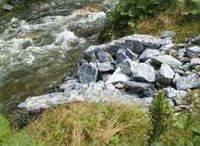 Abfluss aus dem Teich
