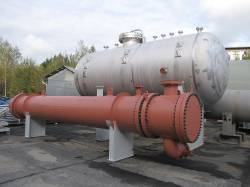Vessels - 6 pcs; Heat Exchangers, 18 pcs.